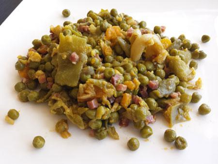 Menestra-de-verduras-salteada-con-jamon